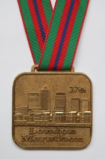 Reverse of Finishers Medal