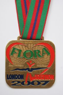 Front of Finishers Medal